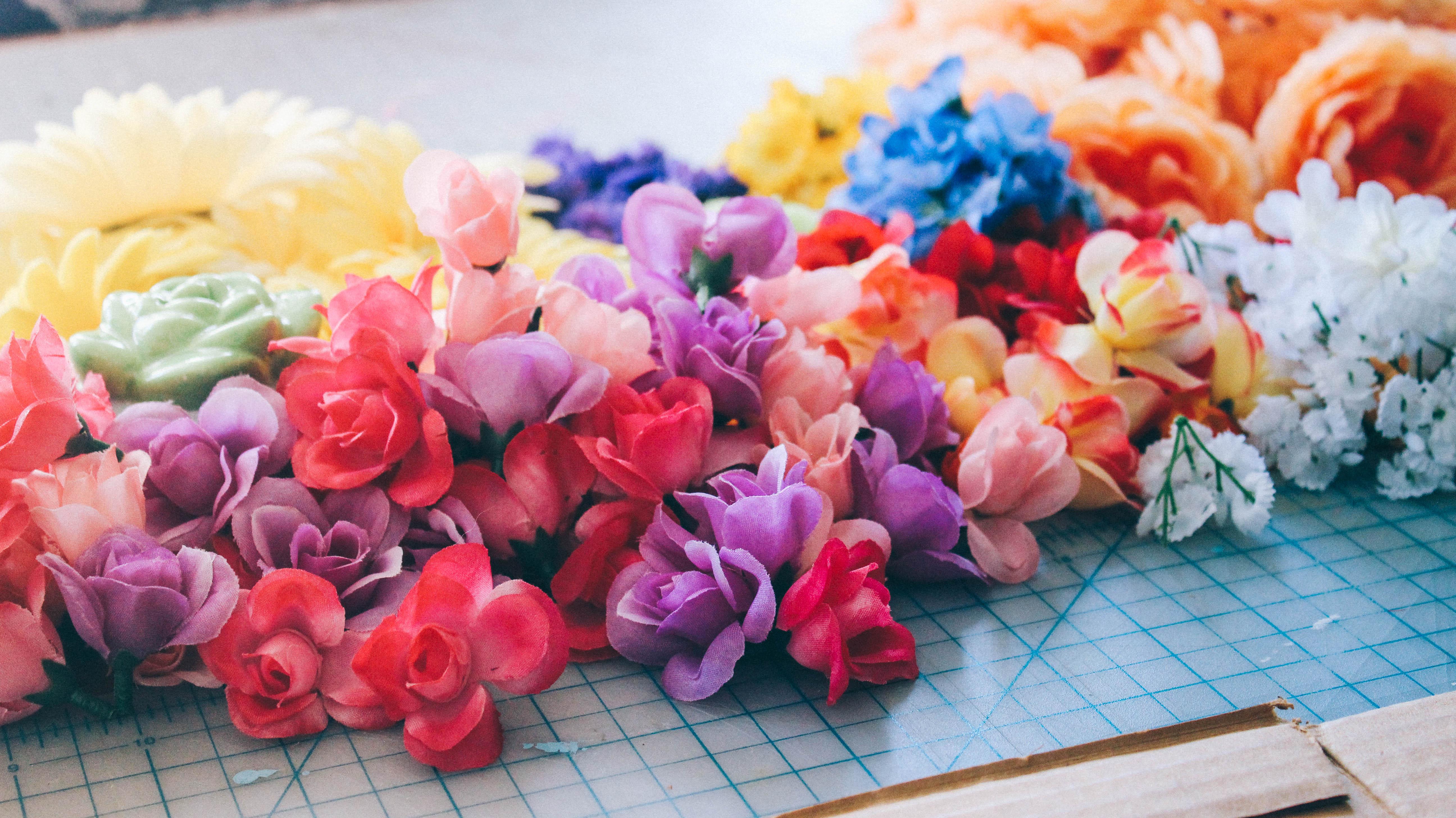 Letter Spring Flower